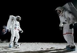Giocare a calcio su Marte