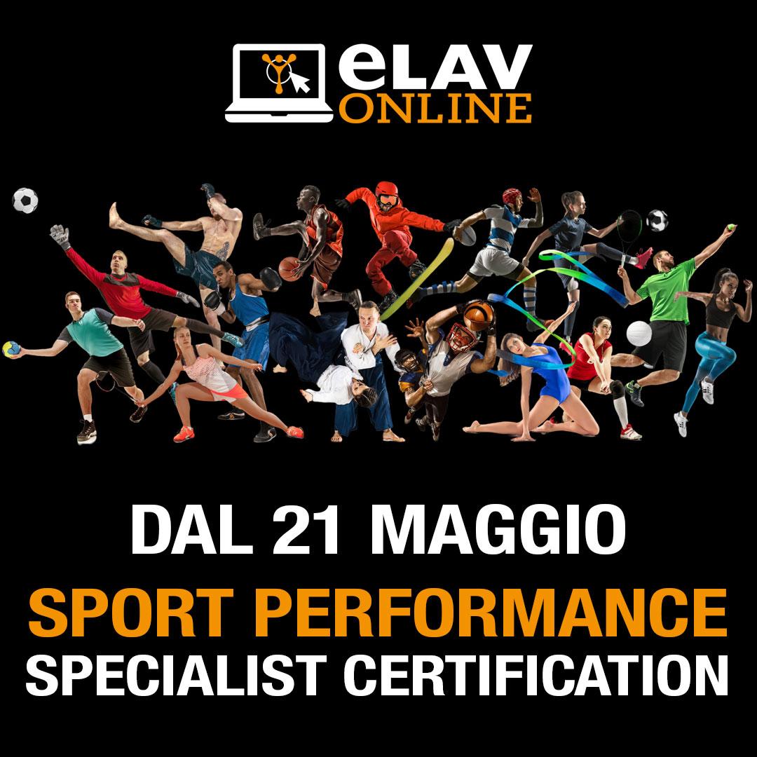 SPORT PERFORMANCE Specialist Certification
